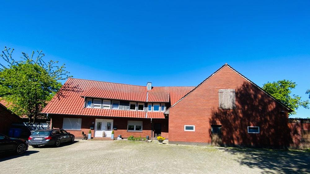 Zweifamilien Resthof im Außenbereich von Goldenstedt